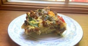 smorgous board breakfast casserole featured image